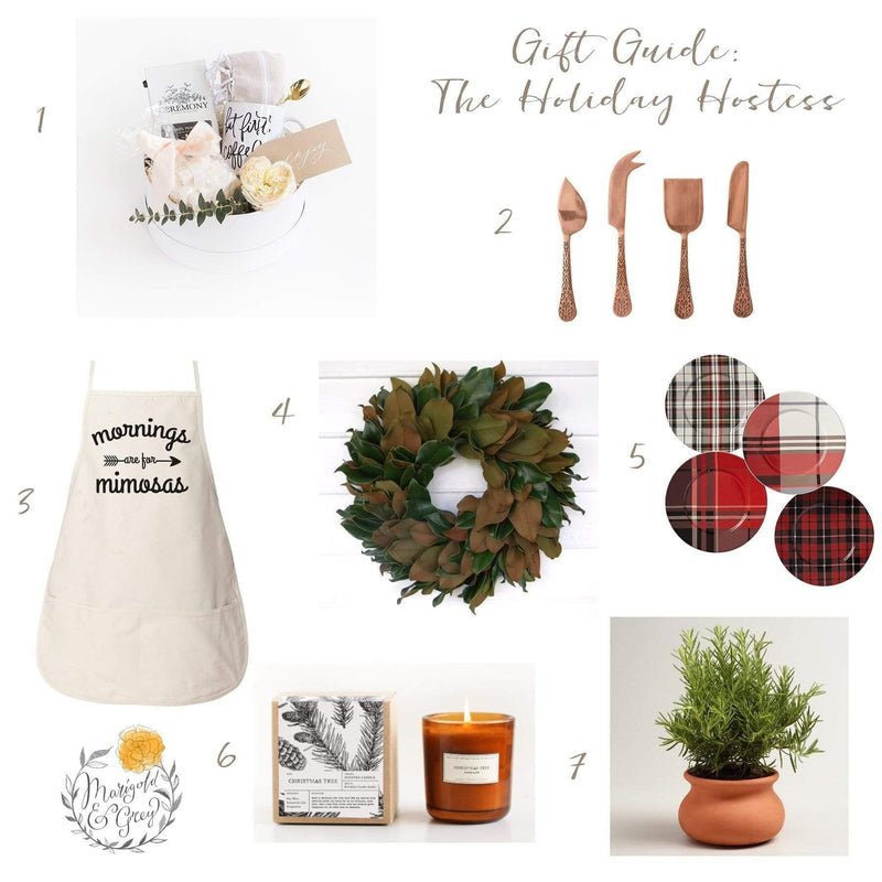 Gift Ideas for The Holiday Hostess // Holiday Gift Guide