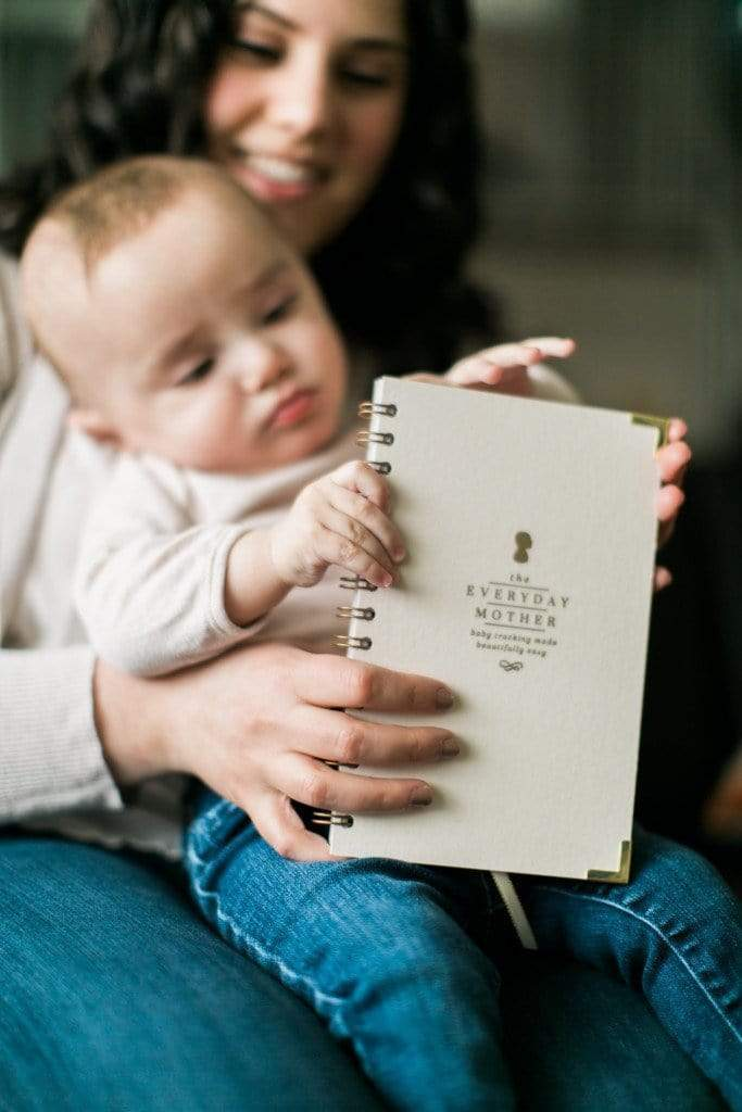The Everyday Mother Baby Tracking Journal Featured in Mom-to-Be Gift Box // Small Business Spotlight