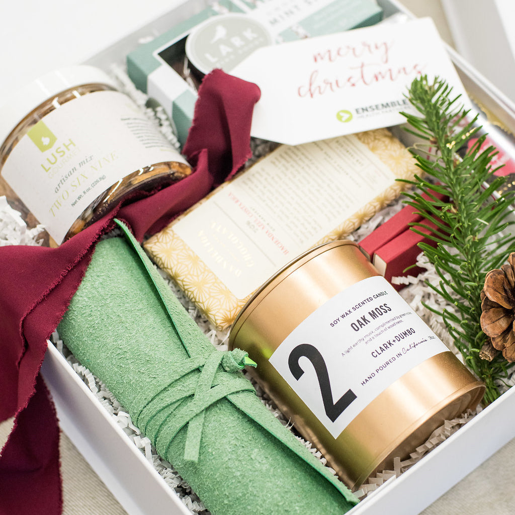 Photo Gallery: Custom Client Appreciation Curated Gift Box Design