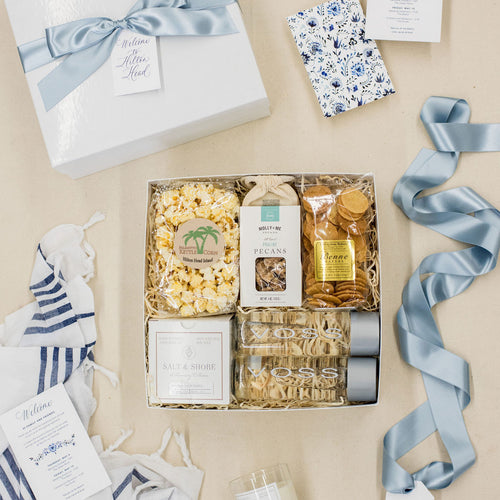 Custom Hilton Head Wedding Welcome Gifts