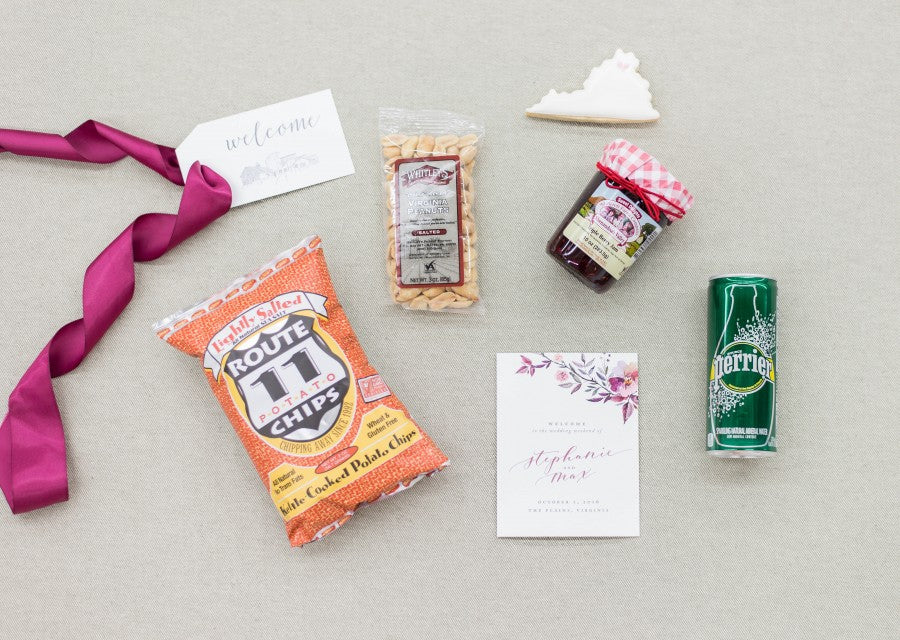 custom-wedding-welcome-gifts-the-plains-Virginia-estate-wedding