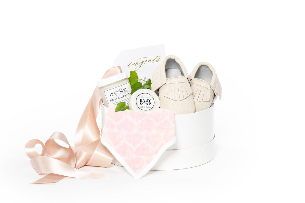 New mom curated gift boxes