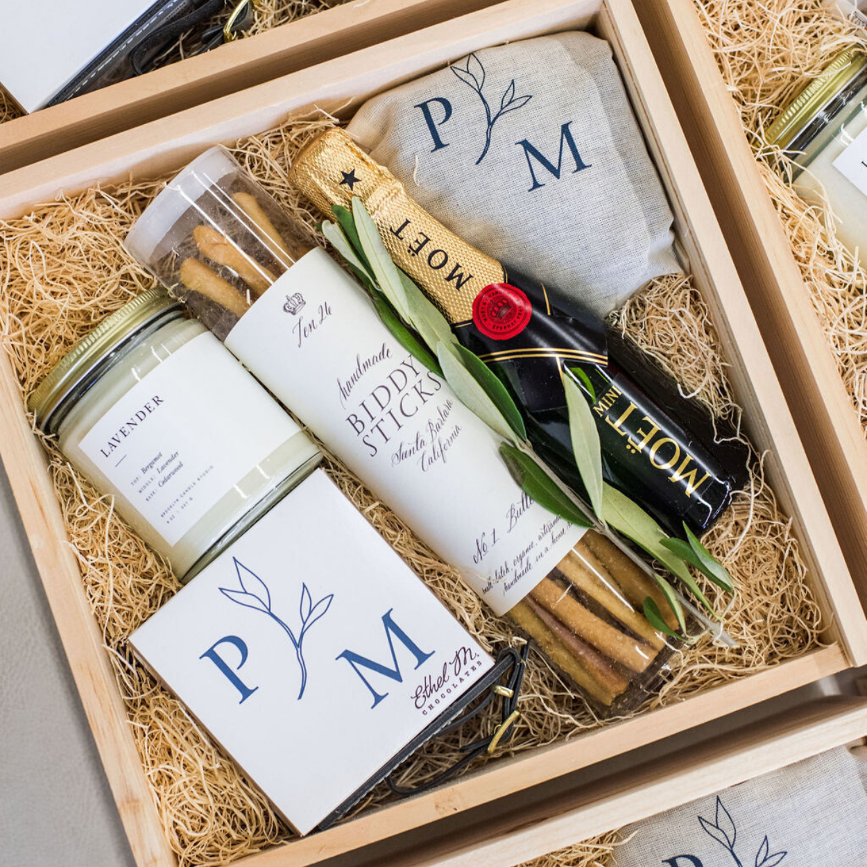 California Luxury Wedding Welcome Boxes