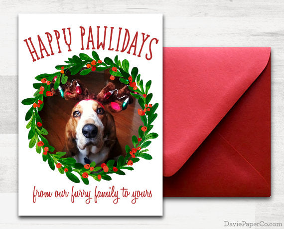 pet holiday card - Pet Holiday Cards