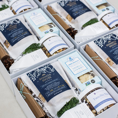 Blue and White Holiday Gifts for Oceania