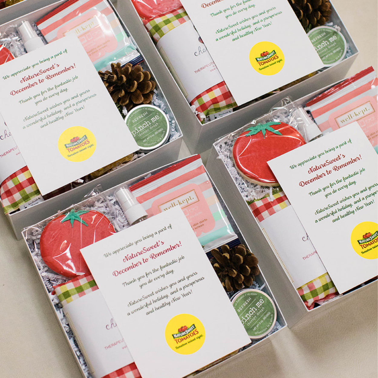 Tomato-Inspired Boxes for Nature Sweet