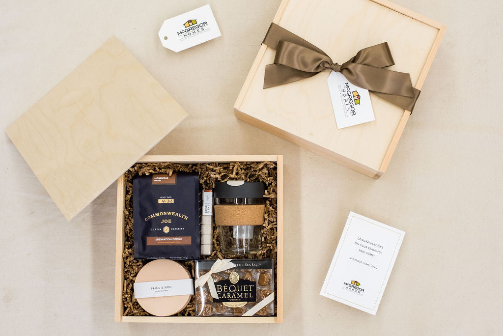 luxury branded client gifts