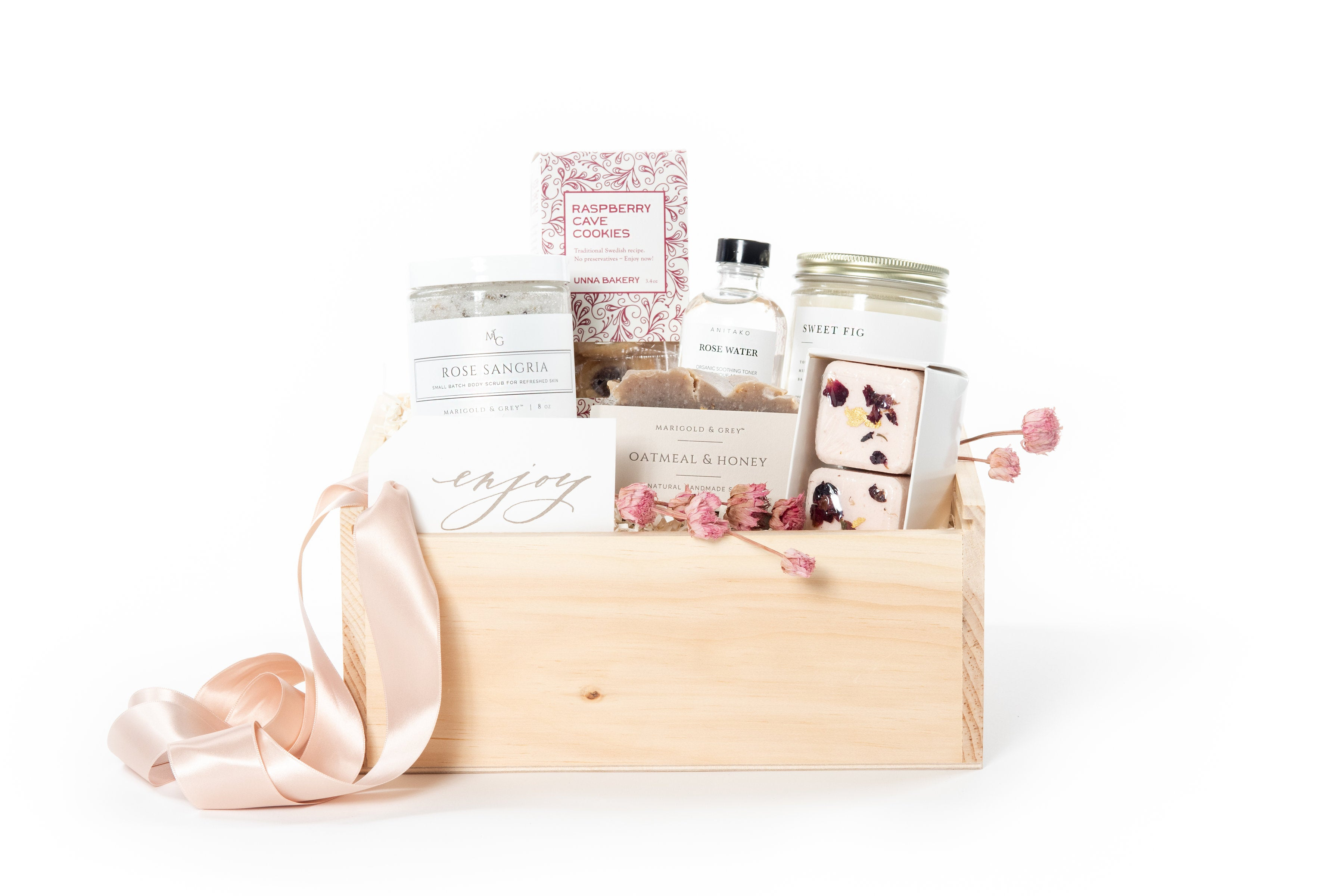 breast cancer gift box