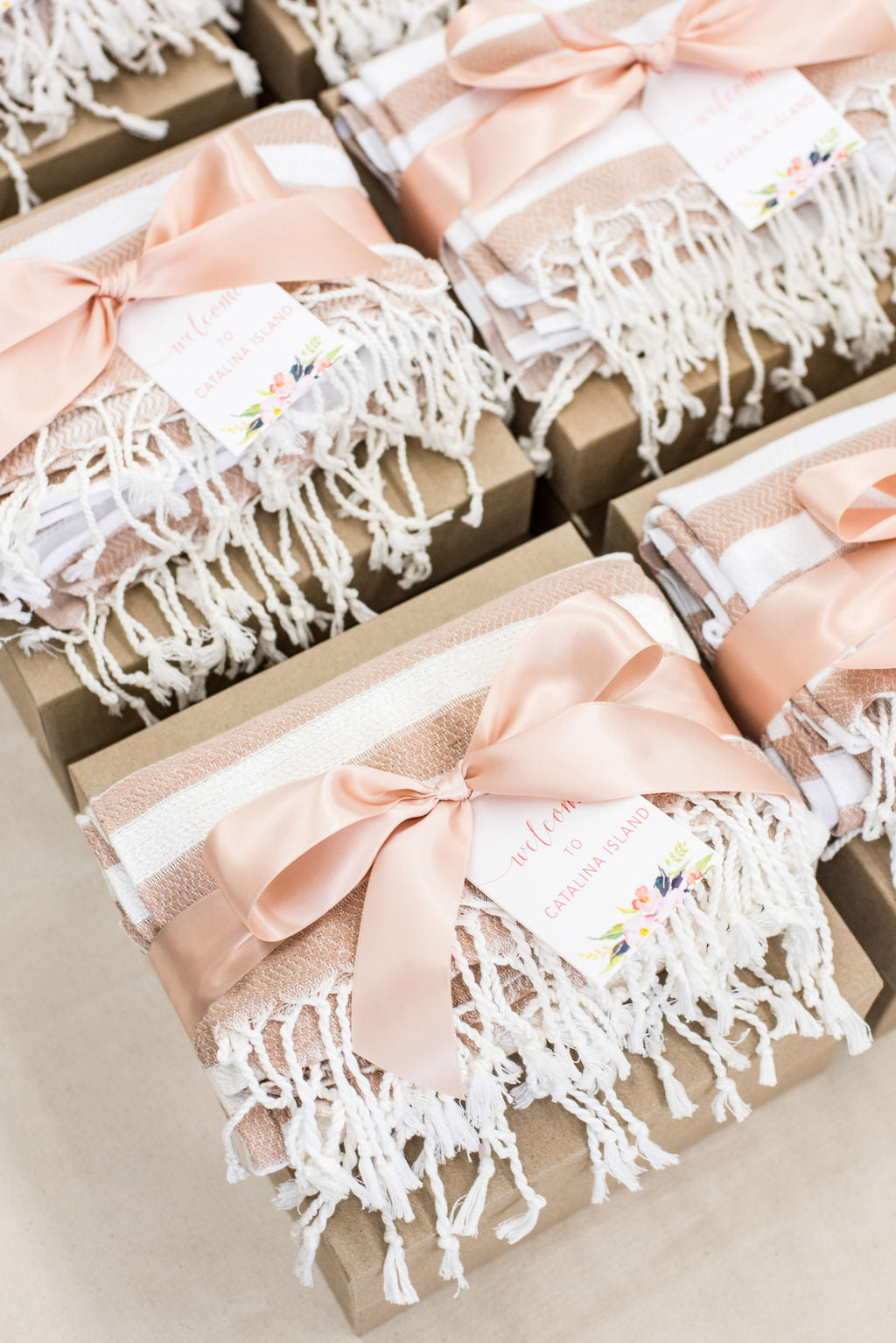 california wedding welcome boxes