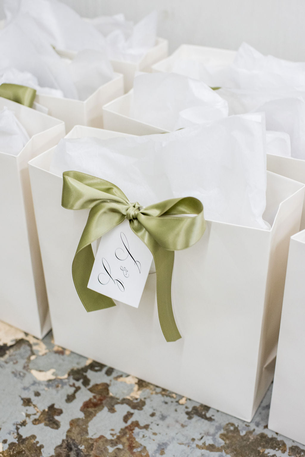 charlottesville wedding welcome bags