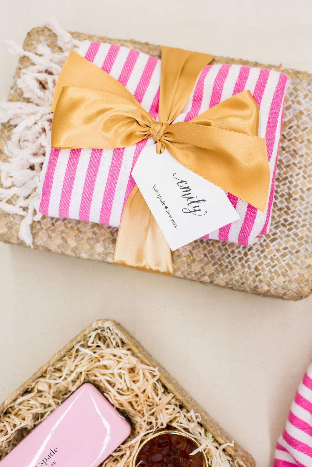 Custom curated gift boxes for Kate Spade New York