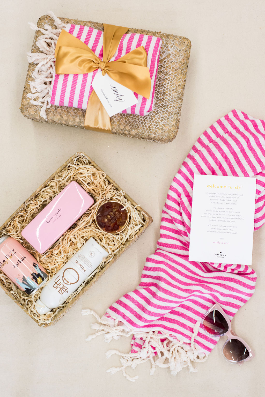 Kate Spade New York corporate welcome gifts