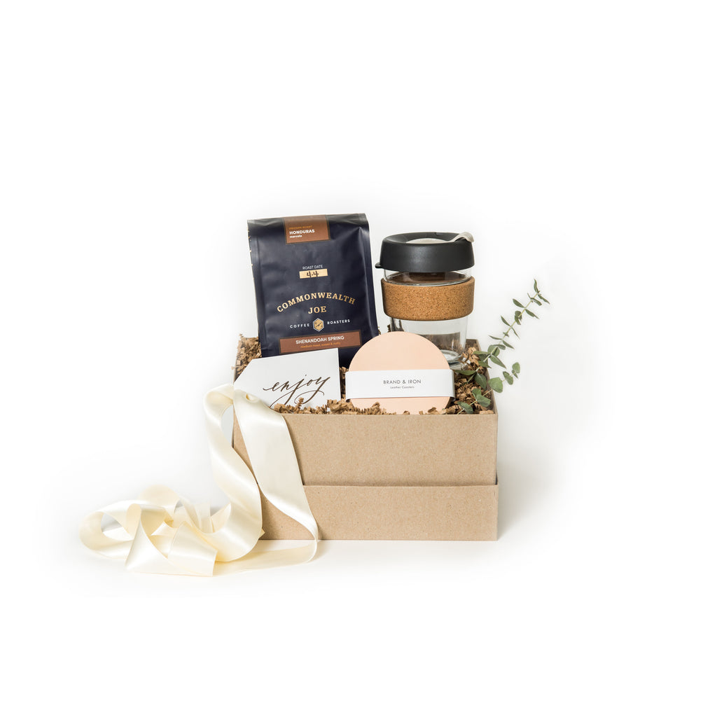 Coffee curated gift box