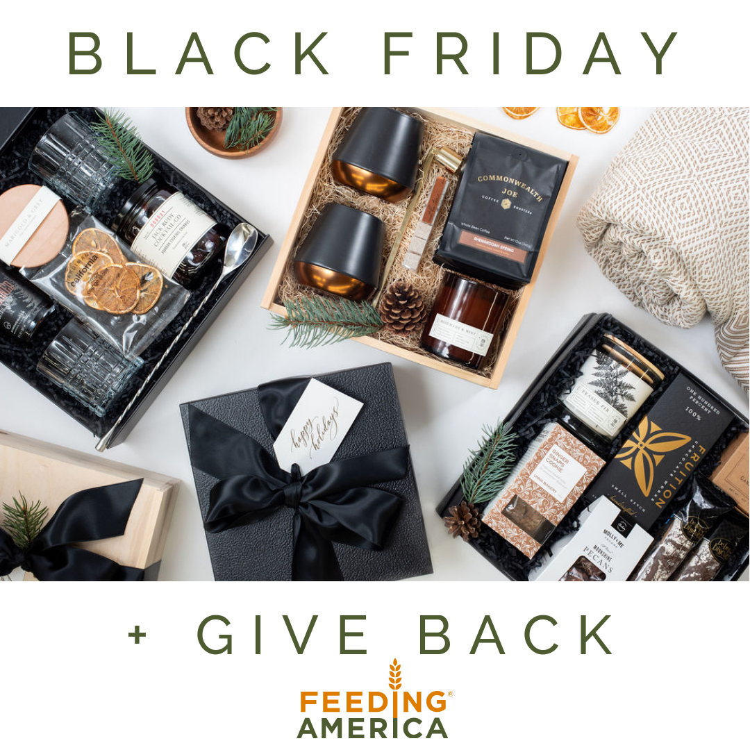 black friday give back donation
