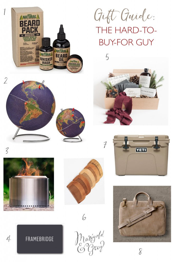 1 Beard Pack  sc 1 st  Marigold u0026 Grey & Gift Ideas for the Hard-to-Buy-For Man // Holiday Gift Guide by Marigo