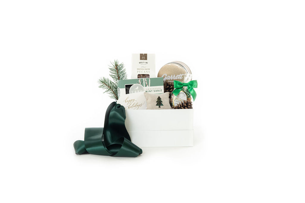 curated holiday gift box