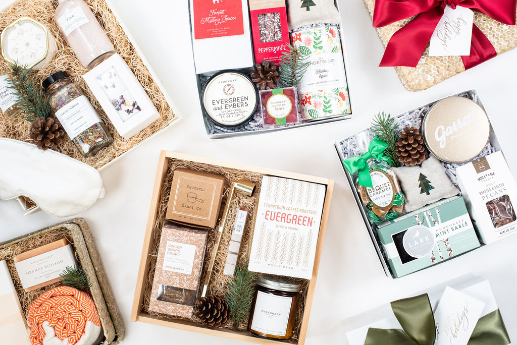holiday gift boxes for clients