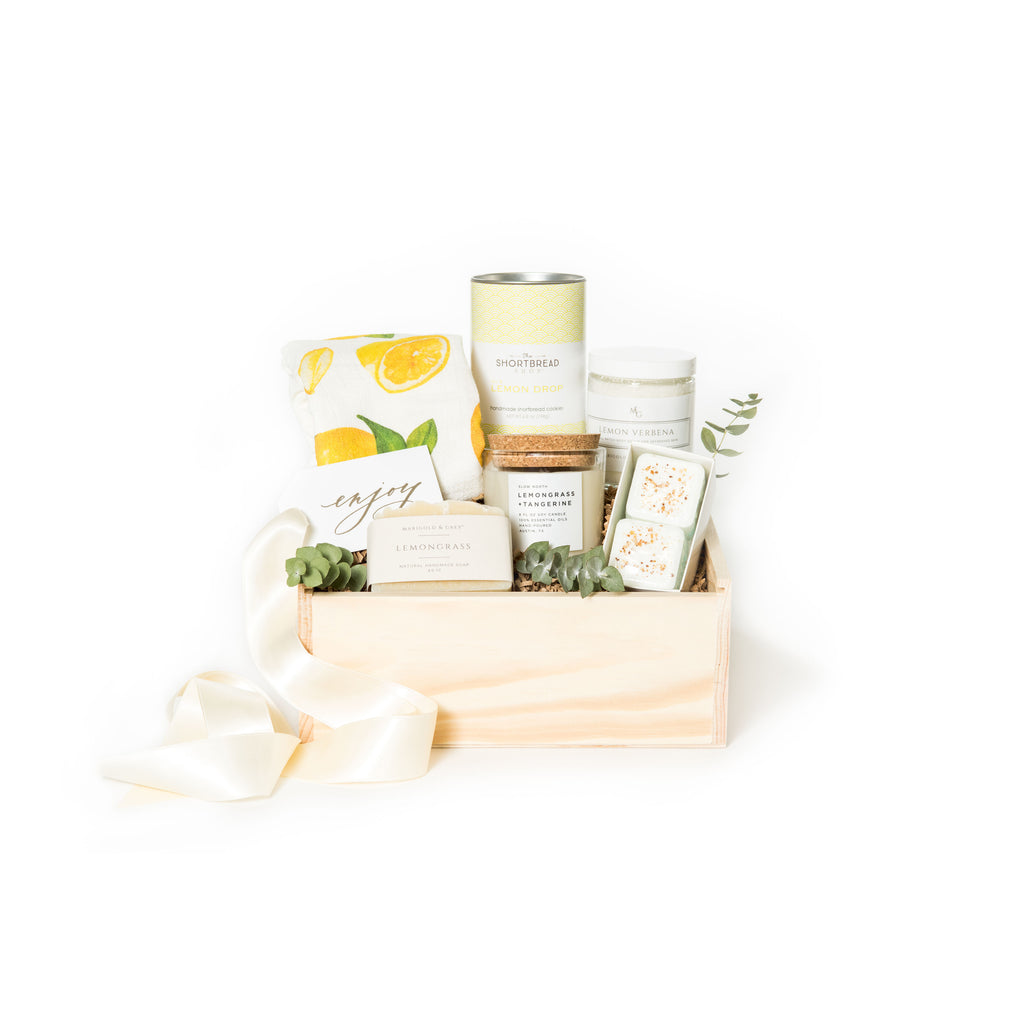 Luxury lemon curated gift box