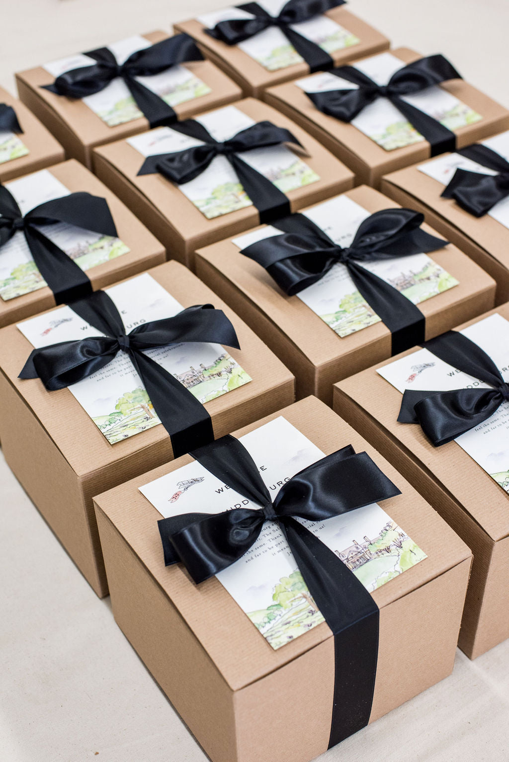 virginia wedding welcome boxes