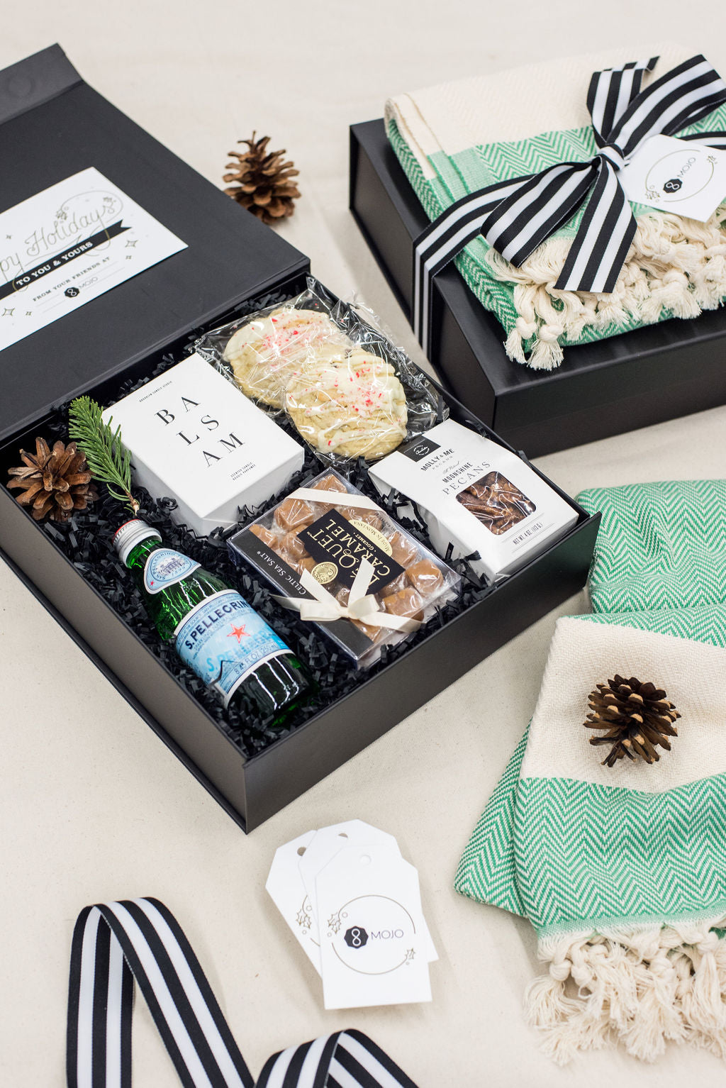 Luxury client holiday gift boxes