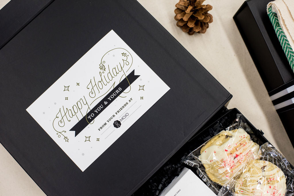 Custom curated gift boxes for holidays