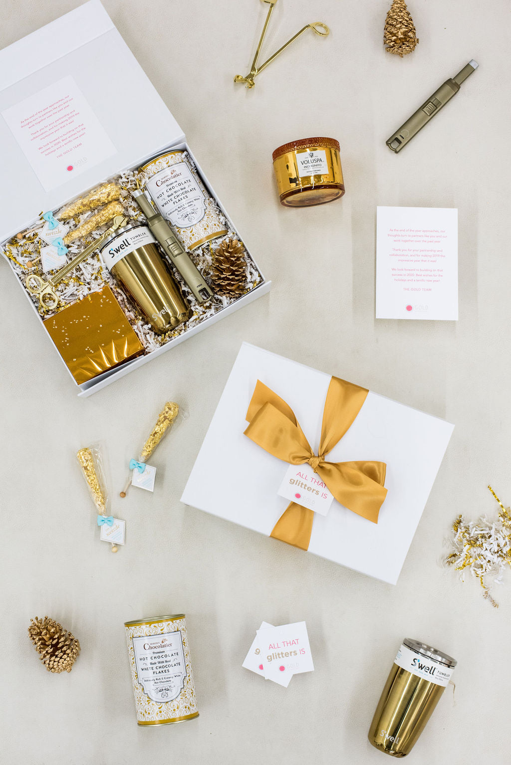 luxury client gift boxes for pr firm