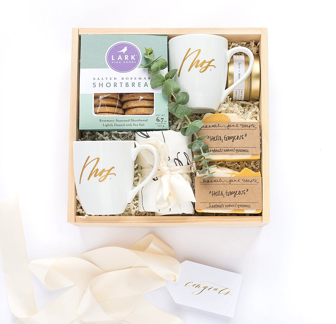 Marigold Grey Launches Same Sex Wedding Engagement Gift Boxes