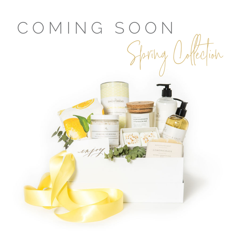 Spring Summer Curated Gift Box Collection by Marigold & Grey