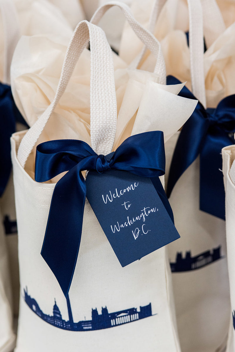 Custom Wedding Welcome Curated Gift Box And Bag Design Delivery