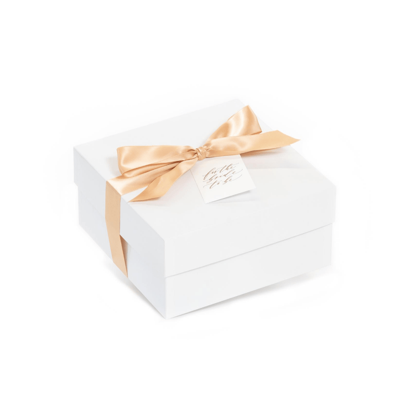 "Shop ""She Said Yes,"" the signature engagement gift box by Marigold & Grey."