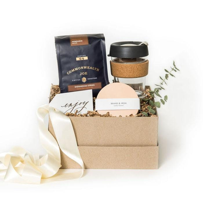 Shop coffee gift sets at Marigold & Grey.