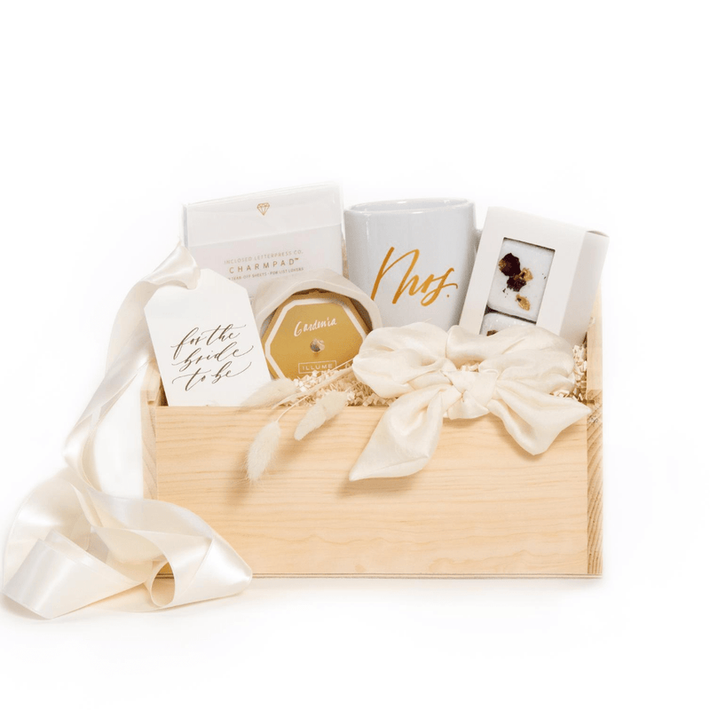 Shop our signature bride to be gift box, 'Wishing You Wellness.'