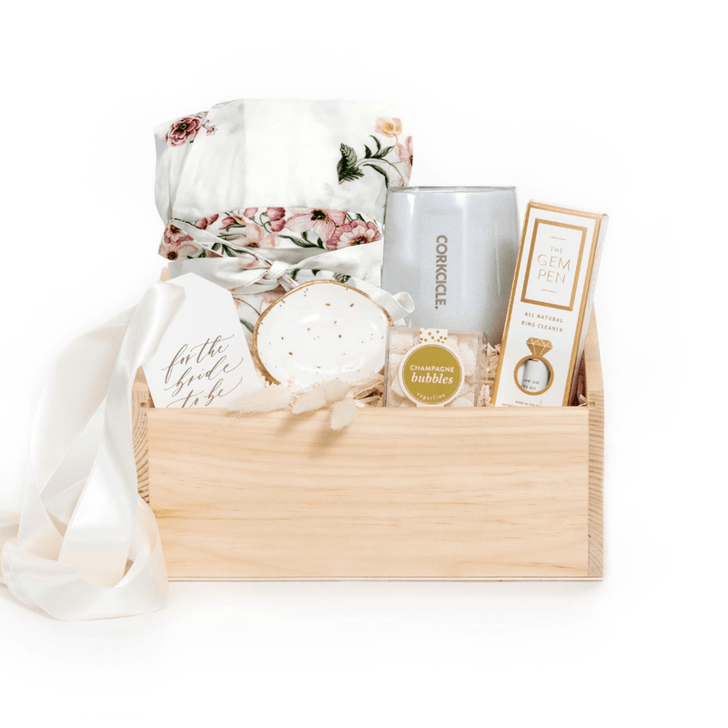 Shop the Future Mrs. gift: our signature engagement gift by Marigold & Grey