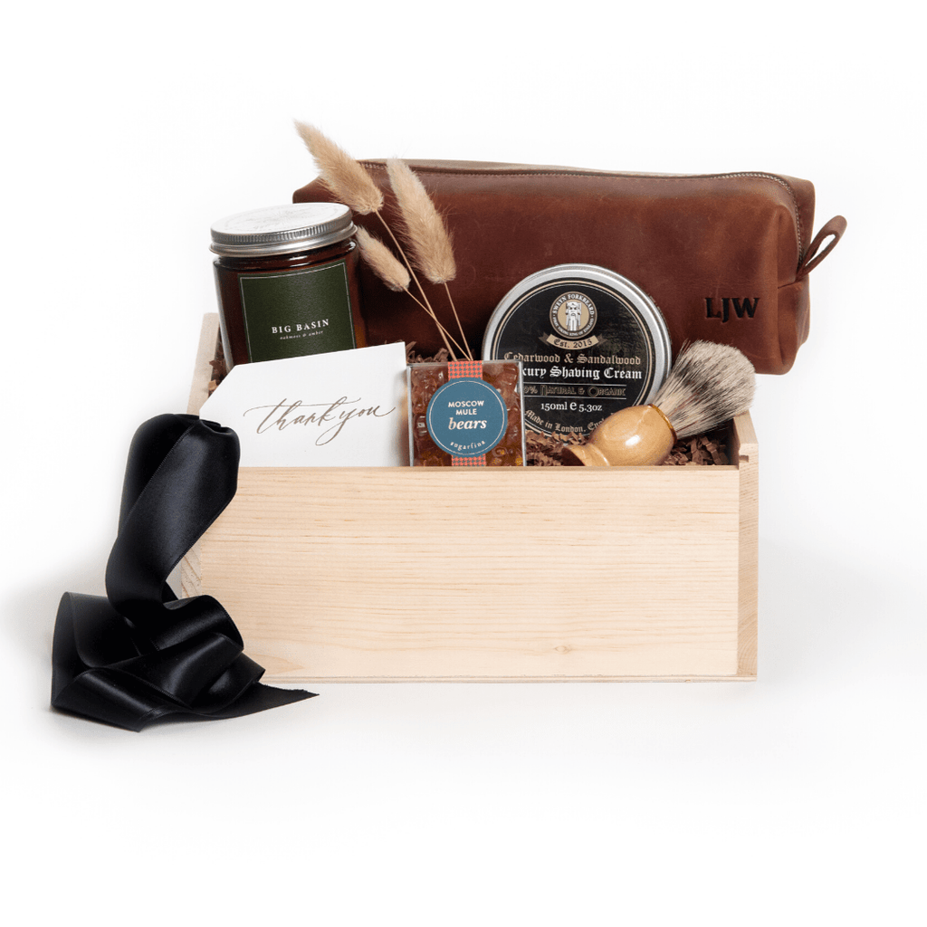 Shop the GQ Gentleman gift: our signature groomsmen gift by Marigold & Grey