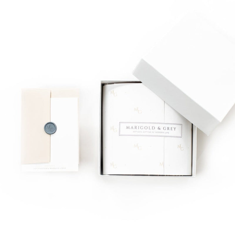 Unisex curated gift box options by Marigold & Grey