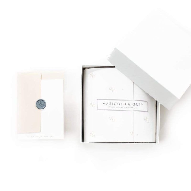 Marigold & Grey designs congratulations curated gift box for graduations, promotions, new job, new home and new baby