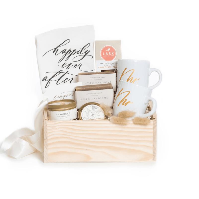 Shop the Happily Ever After gift: our signature engagement gift by Marigold & Grey