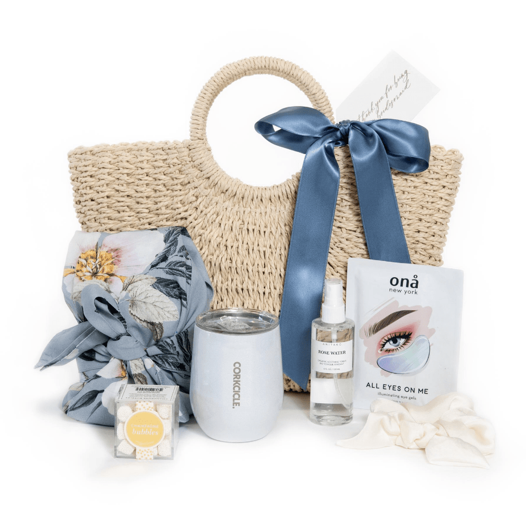 "Shop ""Thank You For Being My Bridesmaid"" the signature bridal party gift box by Marigold & Grey."