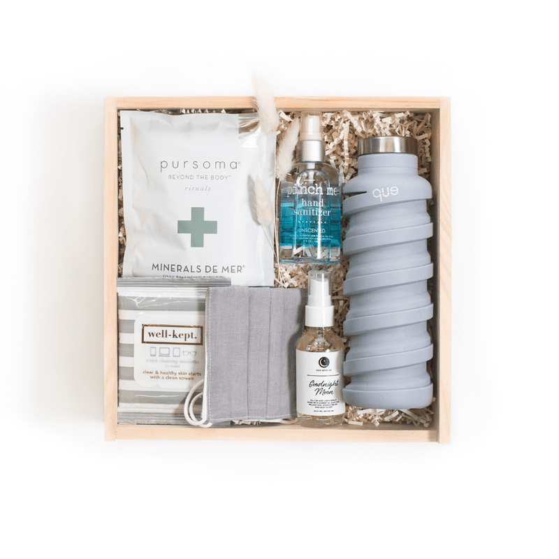Shop our signature wellness gift box, 'Wishing You Wellness.'