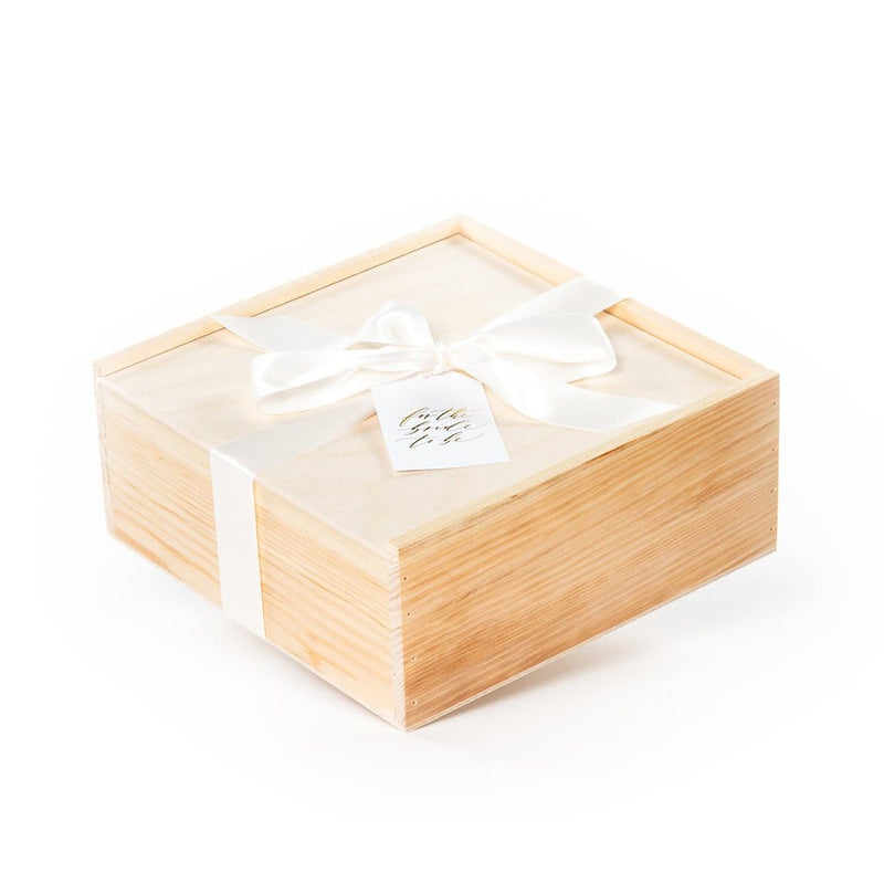 Curated gift box ideas for the bride to be for engagement and bridal shower
