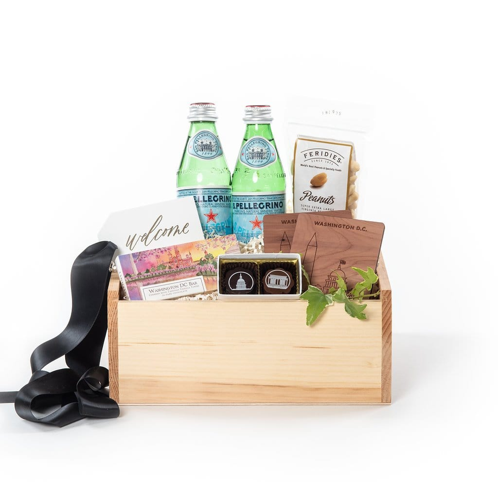 Washington DC Client and Corporate Welcome Curated Gift Box by Marigold & Grey