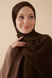 Jazzy Hijab Darkbrown