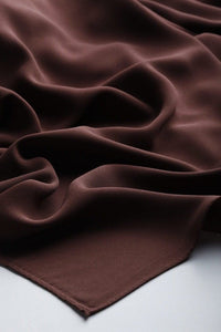 Medina Hijab Chocolate Brown