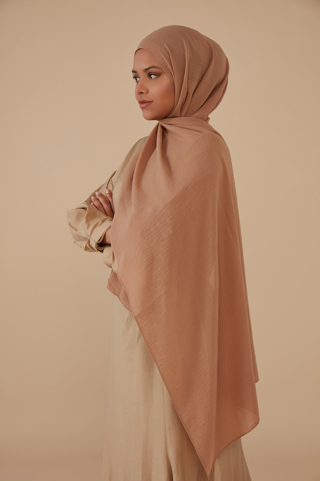 Jazzy Hijab Camel Light