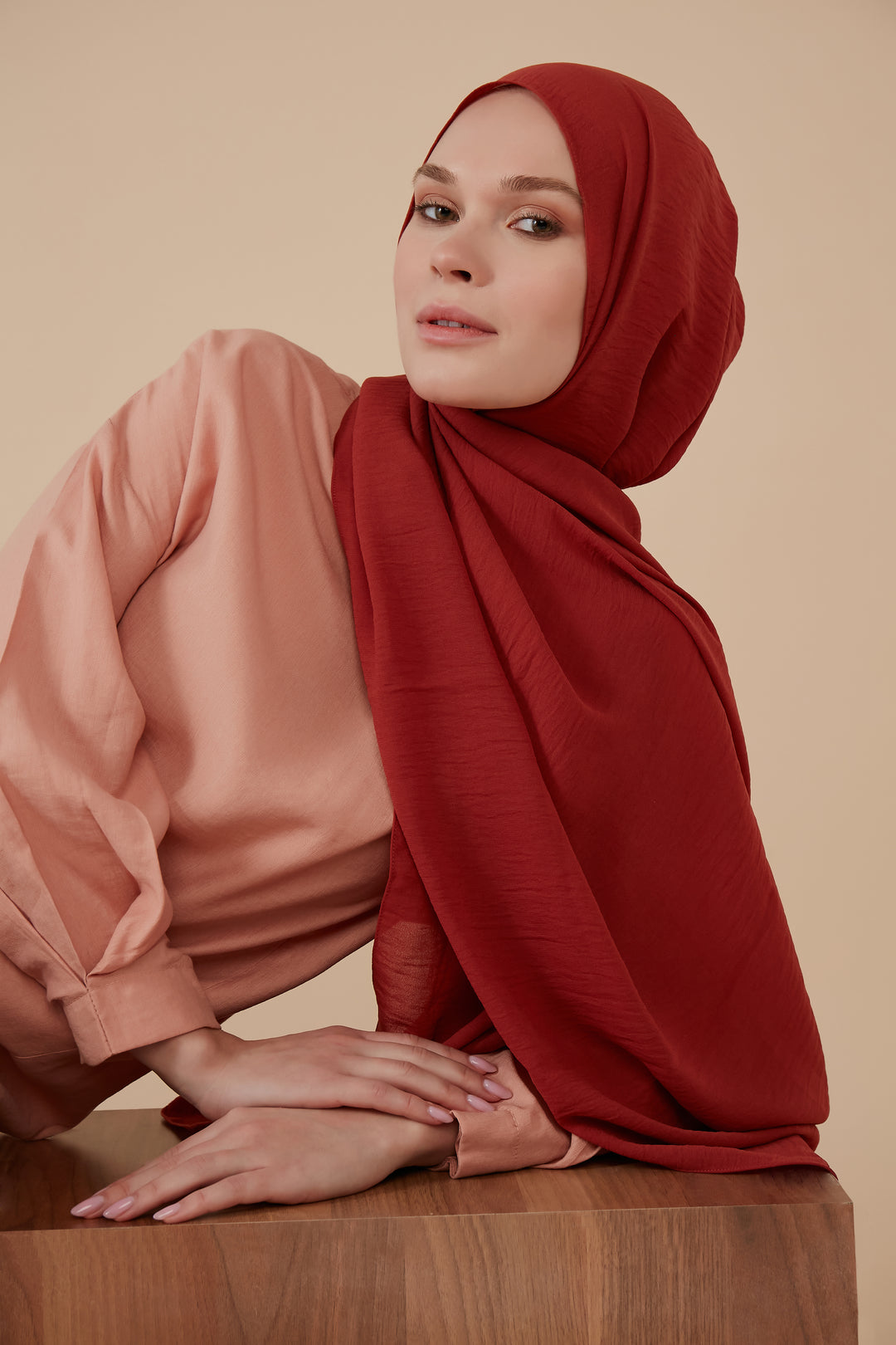 Jazzy Hijab Rusty Red