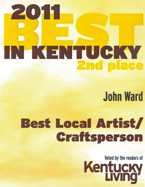 2011 Best in Kentucky - Best Local Artist / Craftsperson, 2nd Place