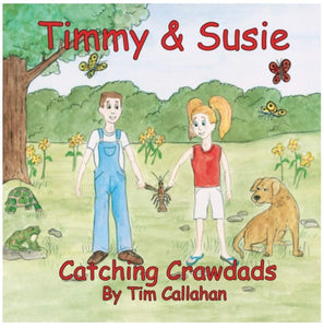 "John Ward Illustrates ""Timmy & Susie, Catching Crawdads"""
