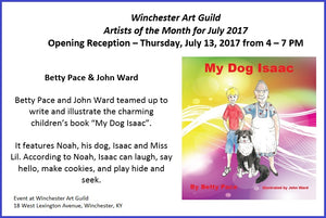 Winchester Art Guild Artists of the Month Announcement