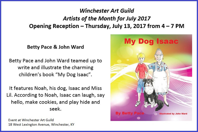 Opening Reception for Artists of the Month, Betty Pace and John Ward