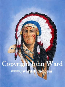 John Ward Indian Logo